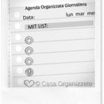 Agenda Organizzata Giornaliera per i LABS