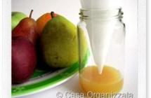 Trappola fai da te contro i moscerini della frutta