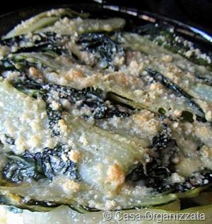 Ricette veloci: parmigiana di bietole e patate