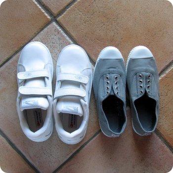 Come pulire le scarpe da ginnastica di tutti i tipi ed