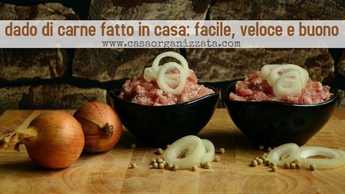 dado di carne fatto in casa - ricetta facile, veloce e buona