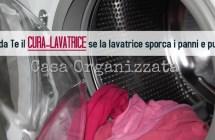Lavatrice che sporca e bucato che puzza: fai in casa il cura-lavatrice