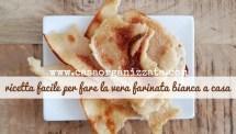 Ricetta facile della Farinata bianca di grano tipica di Savona