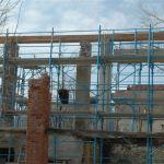 Baubeginn im Winter 2009