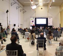Vista general del pabellón durante el Congreso Educativo sobre Enfermedades Raras