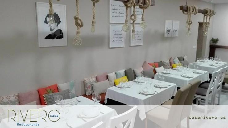 Nuevo salón Restaurante Casa Rivero