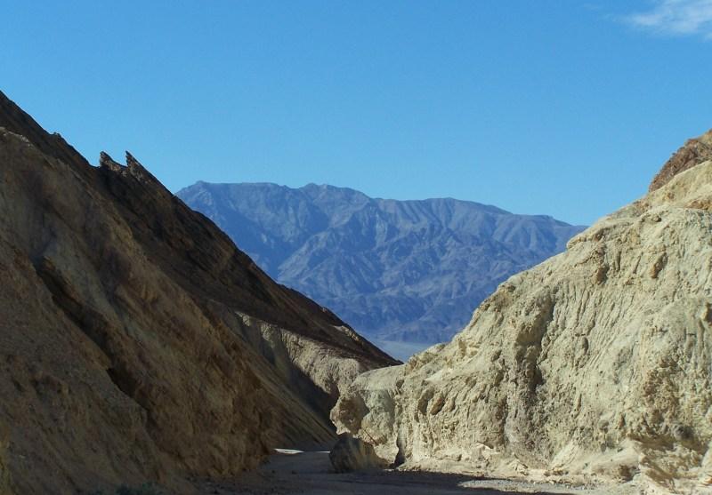 Golden Canyon toward the valley