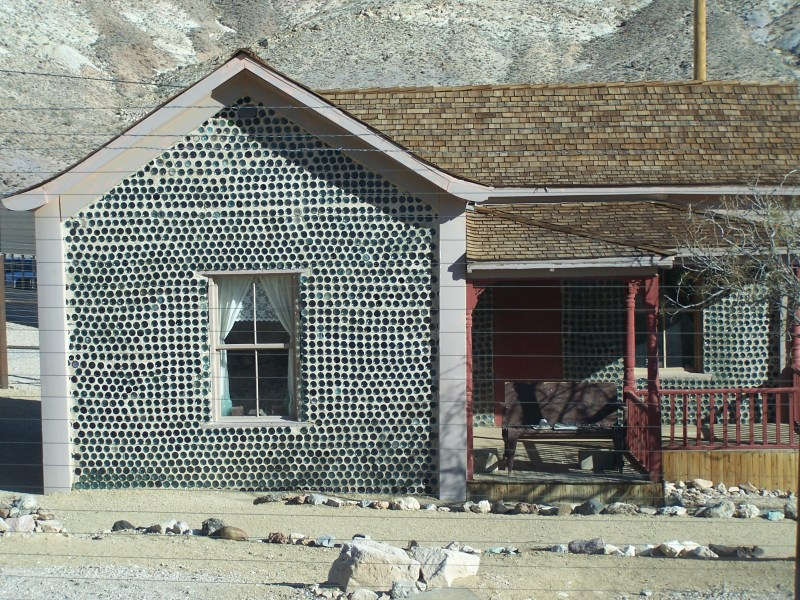 Rhyolite Bottle House