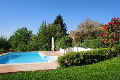 Swimming pool with a view - Casarovelli