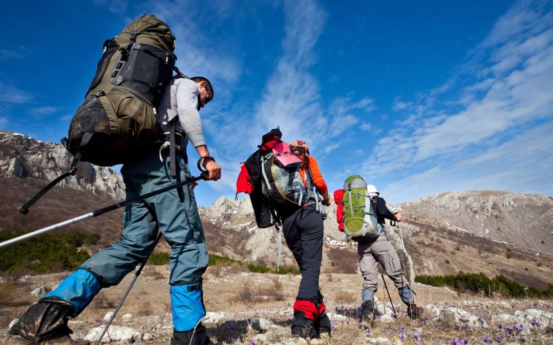 Senderismo en el parque Nacional de Cabañeros