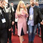 Michelle Hunziker a Casa Sanremo