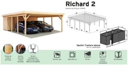 porche en madera richard 2