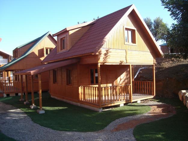 Casas madera madrid oto o entre madera con casas carbonell casas carbonell - Casas de madera madrid ...