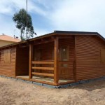 Casas Carbonell fabrica cabañas de madera y bungalows para campings.