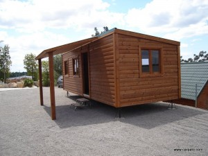 Casas de madera economicas CCR, modelo CCR28