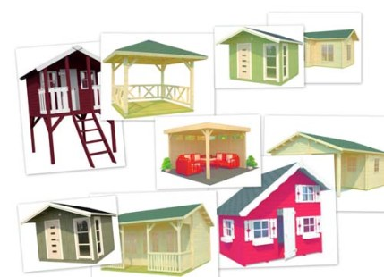 casas de jardín, casetas  Casas Carbonell
