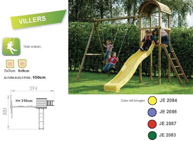 parque infantiles villers