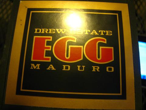 Drew Estate Egg Maduro