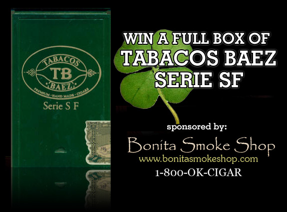Win a box of Tabacos Baez Serie SF