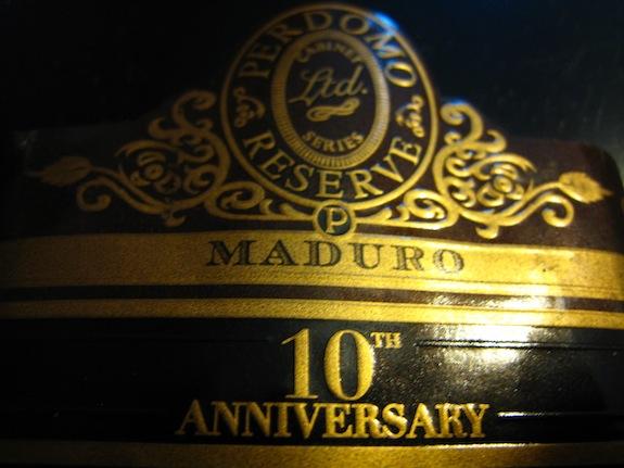 Perdomo 10th Anniversary Maduro