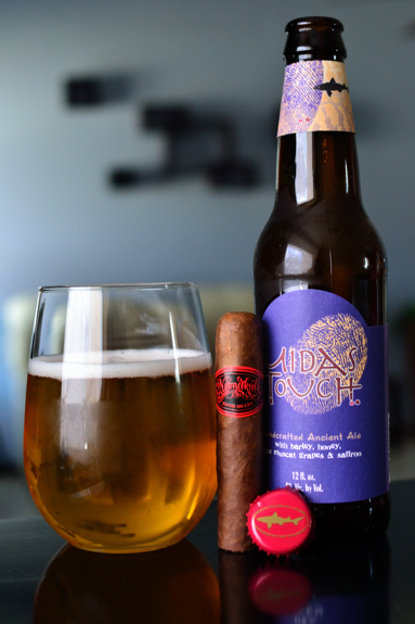 Room 101 Namakubi with some Dogfish Head Midas Touch