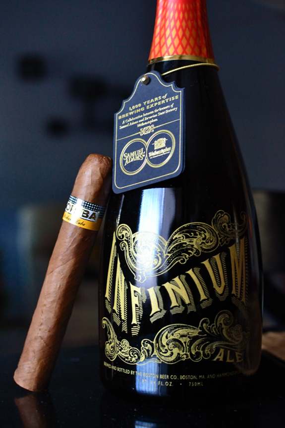 Cohiba Siglo VI with some Samuel Adams Infinium