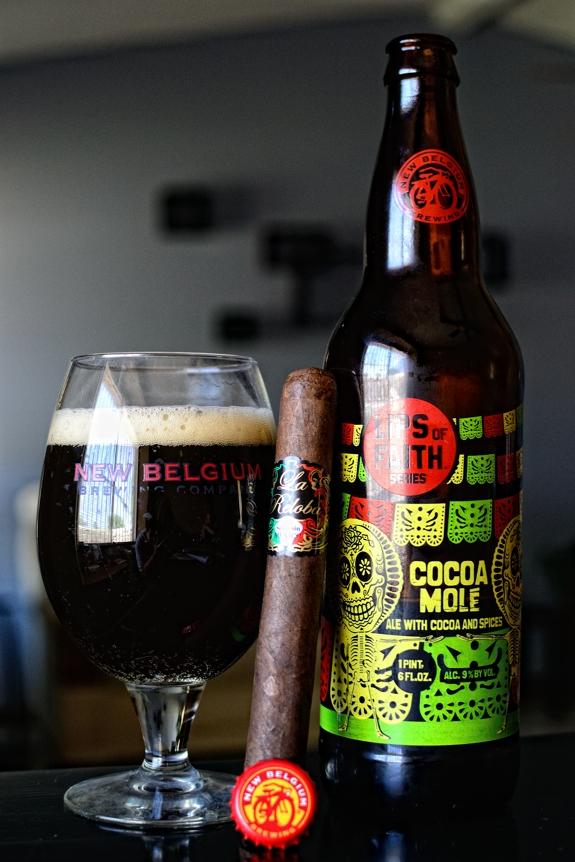 La Reloba Mexico with New Belgium Cocoa Mole