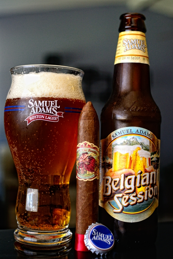 My Father Flor de las Antillas - Samuel Adams Belgian Session