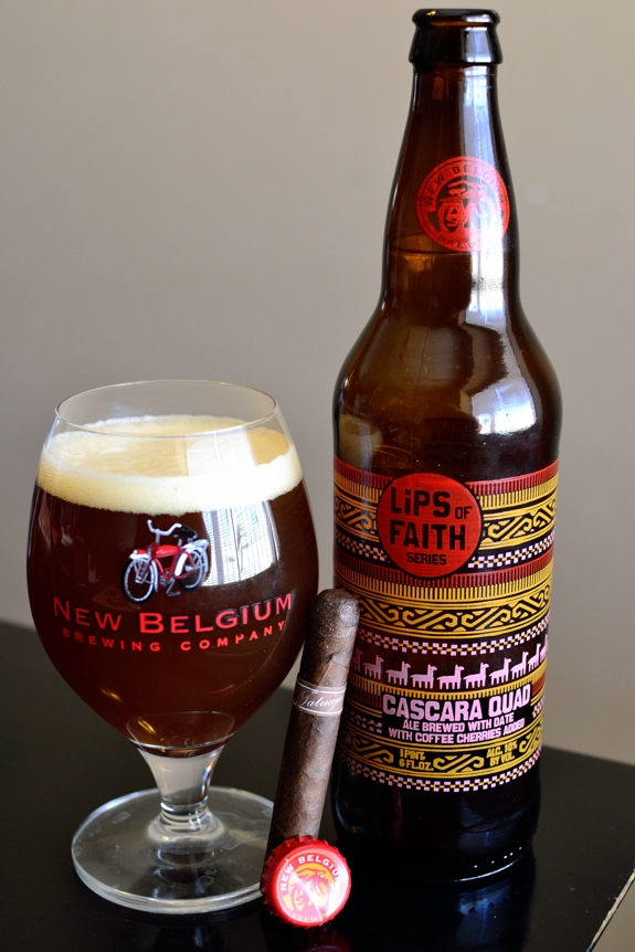 New Belgium Lips of Faith Cascara Quad