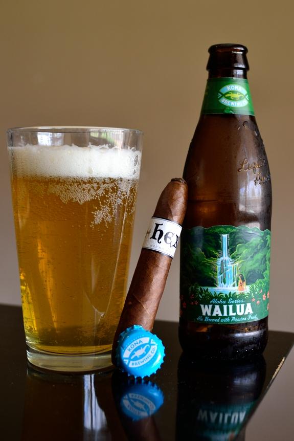 Sindicato Cigars Hex with a Kona Wailua