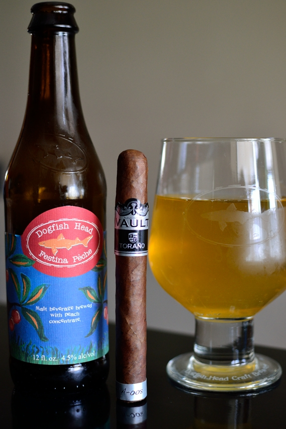 Torano Vault with Dogfish Head Festina Peche