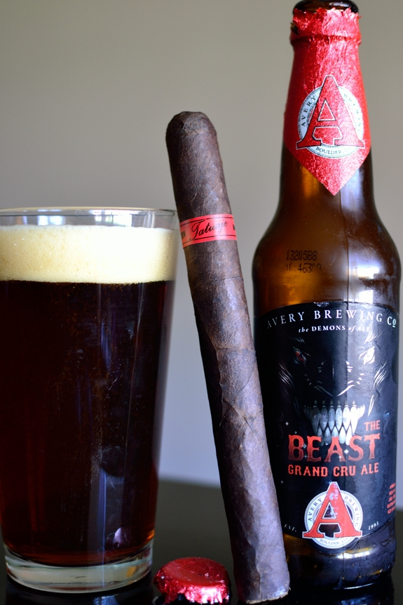 Tatuaje JV13 Jason with Avery Brewing's The Beast