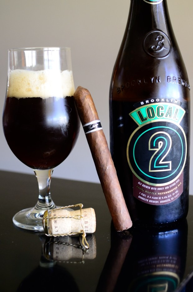 Tatuaje Black Corona Gorda with Brooklyn Brewing's Local 2