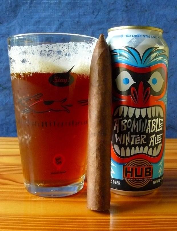 Hopworks Urban Brewery Abominable Winter Ale