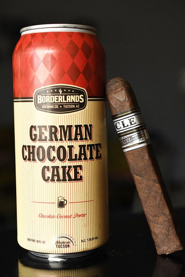 Borderlands Brewing Co. German Chocolate Cake