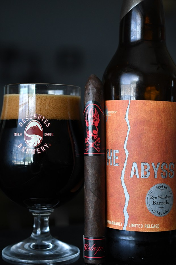 Deschutes 2015 Rye Whiskey Barrel Aged Abyss