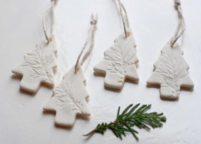 Χριστουγεννιάτικα στολίδια: Κατασκευές από ζύμη!