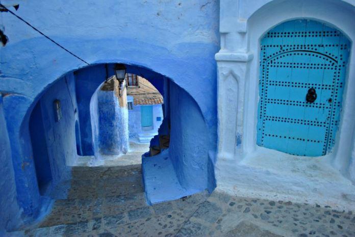 Μία μπλε πόλη στο Μαρόκο …Ποια είναι η ιστορία της;