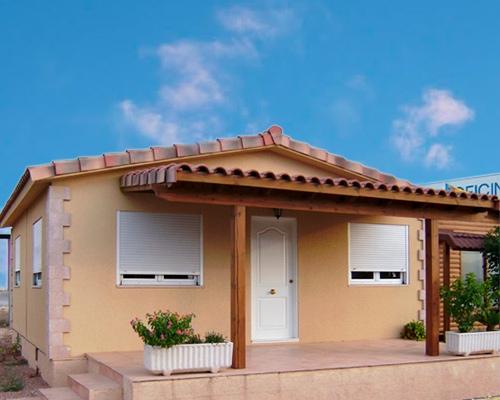 Casa de madera Alicante 49m2