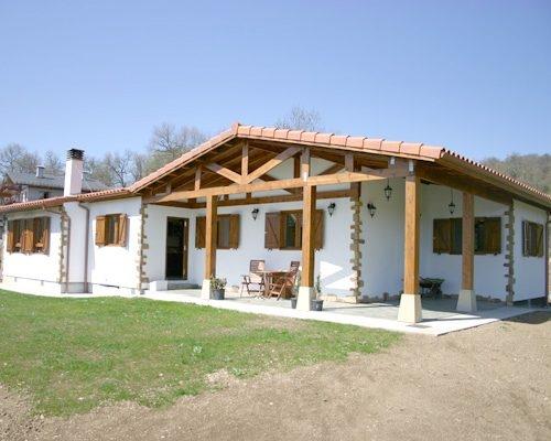 Casa de madera modelo Araba