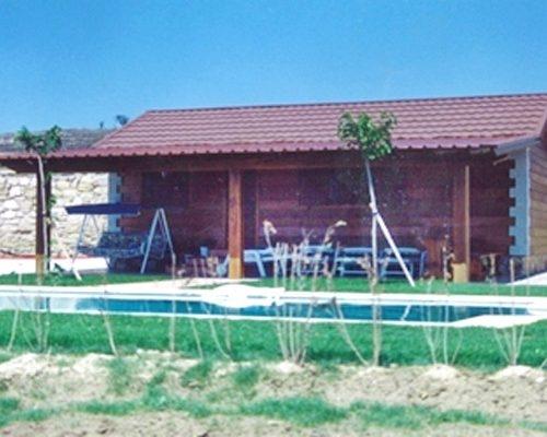 Casa de madera modelo Ibiza