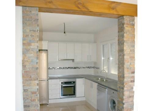 Cocina casa de madera