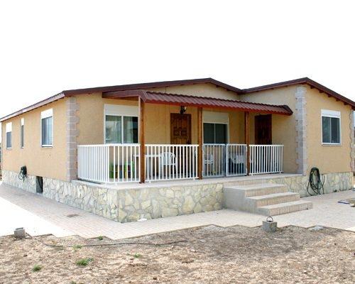 Casa modular prefabricada Mediterráneo