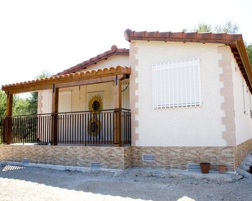 Casa de madera modelo Mediterráneo