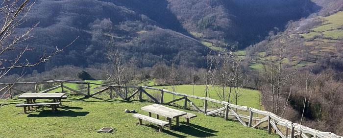 Área recreativa Asturias, cerca de Teverga