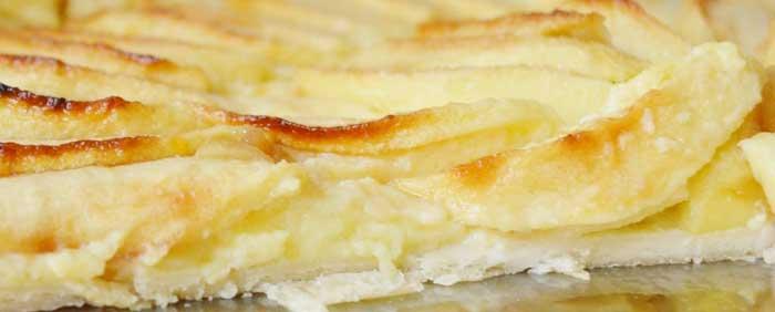 receta tarta de manzana muy fácil