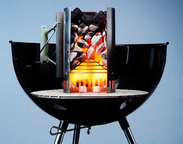 Weber 7416 - Chimenea de encendido Rapidfire