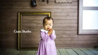 1歳お誕生日記念女の子