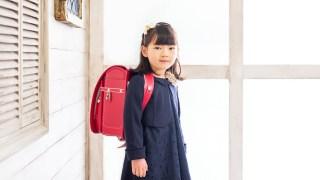 小学校入学記念の女の子