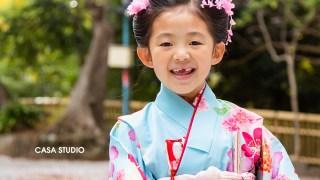 7歳 七五三出張撮影 師岡熊野神社